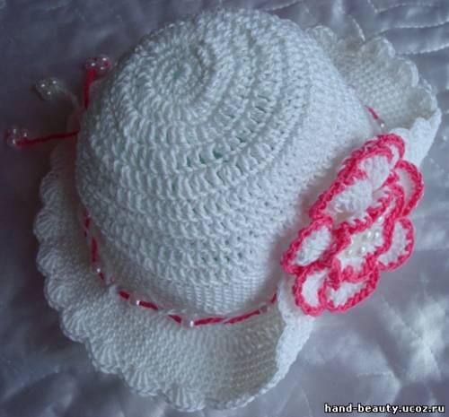 Ажурные шляпки крючком схемы.